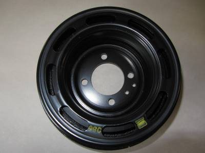91-93 Mazda Miata New OEM Long Nose Crankshaft Pulley/Harmonic Balancer, b6s8-11-401 - Image 1