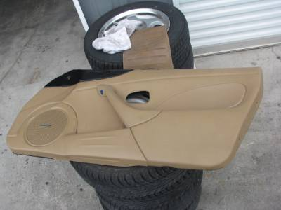 Miata 99-05 - Body, Internal Inc. Seats, Dash, AC, Tops - '01-'05 Tan Bose Door Panel Passenger side