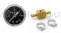 New Spec Miata Parts '90-'97 - Engine & Accessory Components - Miata 5X Racing Inline Fuel Pressure Gauge