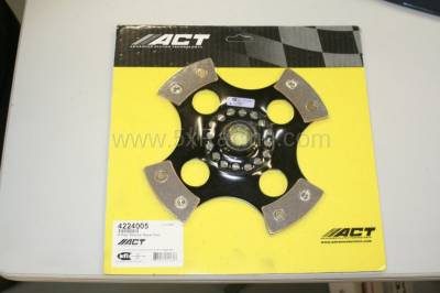 New Spec Miata Parts '90-'97 - Drivetrain, Transmission, and Differential - ACT 4-Puck Solid Hub Race Clutch Disc for 1990-1993 Mazda Miata