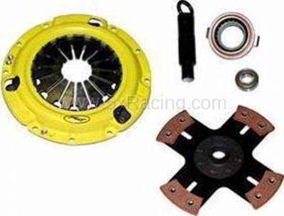New Spec Miata Parts '90-'97 - Drivetrain, Transmission, and Differential - ACT HD 4-Puck Solid Hub Clutch Kit for 1990-1993 Mazda Miata