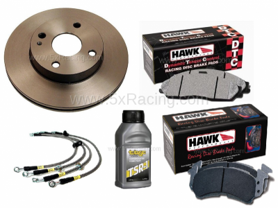 New Spec Miata Parts '99-'05 - Suspension, Chassis, Steering, Brakes - Create Your Own Hawk Racing Brake Package for Mazda Miatas