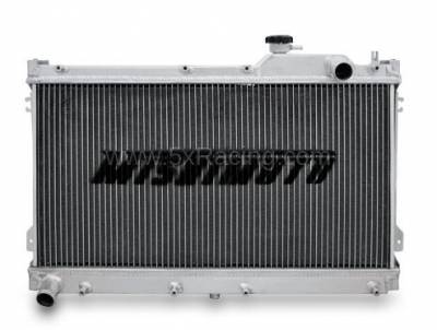 New Spec Miata Parts '90-'97 - Engine & Accessory Components - Mishimoto X-Line Performance Aluminum Radiator for 1990-1997 Mazda Miata