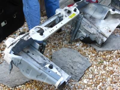 90 - 97 or 99 - 05 Miata full Radiator Support & Unibody