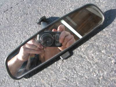 Miata 99-05 - Body, Internal Inc. Seats, Dash, AC, Tops - '99-'05 NB Rear-view Mirror