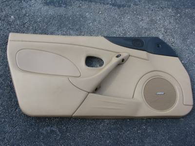 Miata 99-05 - Body, Internal Inc. Seats, Dash, AC, Tops - '01-'05 Tan Bose Door Panel Driver side
