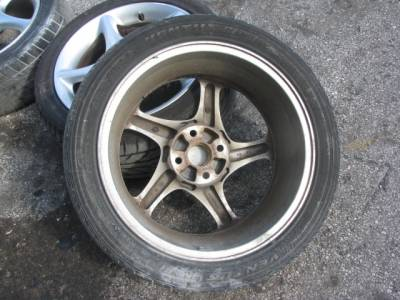 "16"" by 6.5"" Twisted Spoke Wheels, Set of 4"