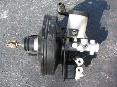 Miata 99-05 - Suspension, Chassis, Steering, Brakes - Brake Master Cylinder and Booster '01-'05