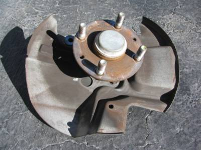 Miata 99-05 - Suspension, Chassis, Steering, Brakes - '01 - '05 Front Hub With Spindle