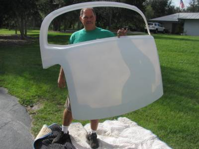 New Light Weight Miata Race Hard Top fits '90 - 05 - Image 1