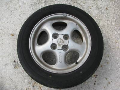 "Miata 90-97 - Wheels & Tires - 14"" by 6"" 5 Spoke Wheel"