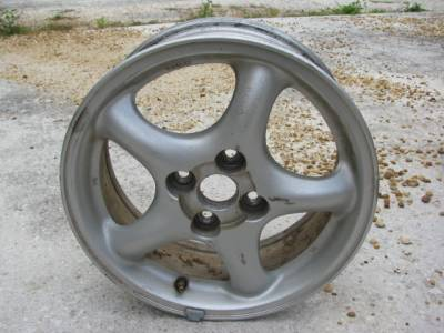 "Miata 90-97 - Wheels & Tires - 15"" by 6""  5 Spoke Wheel"