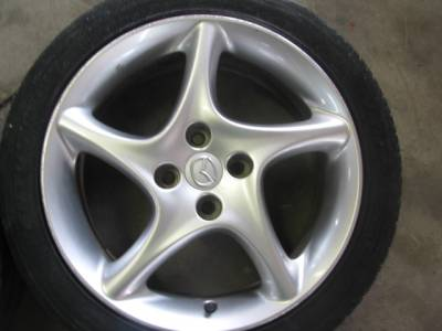 "Miata 99-05 - Wheels & Tires - 16"" by 6.5"" Twisted Spoke Wheel"
