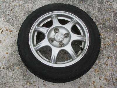 "Miata 99-05 - Wheels & Tires - 14"" by 6"" 7 Spoke Wheel"
