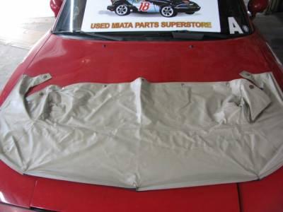 Miata 99-05 - Body, Internal Inc. Seats, Dash, AC, Tops - '99 - '05 light tan (parchment) convertible boot cover