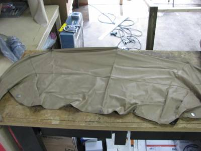 Miata 99-05 - Body, Internal Inc. Seats, Dash, AC, Tops - '99-'05 Tan Convertible Boot Cover