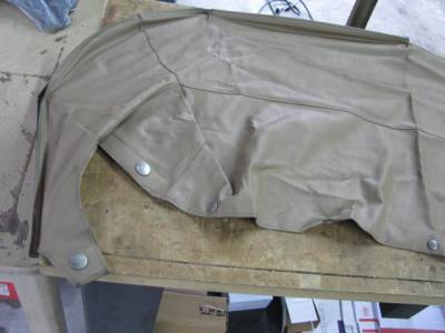 '99-'05 Tan Convertible Boot Cover - Image 2