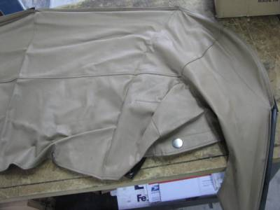 '99-'05 Tan Convertible Boot Cover - Image 3