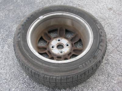 "Set of (4) 14"" by 5.5"" Wheel, Daisy - Image 2"