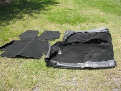 '99-'05 NB Carpet Set, Black