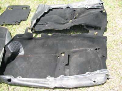 '99-'05 Miata NB Carpet Set, Black - Image 2