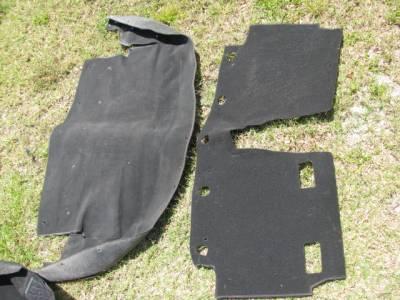 '99-'05 Miata NB Carpet Set, Black - Image 4