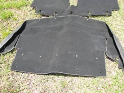 '99-'05 Miata NB Carpet Set, Black - Image 5