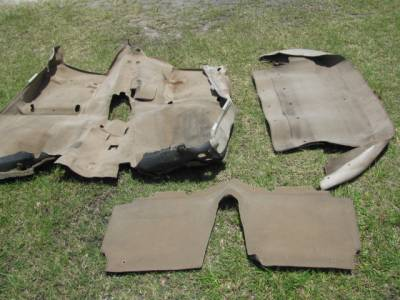 Miata 99-05 - Body, Internal Inc. Seats, Dash, AC, Tops - '99-'05 NB Carpet Set, Tan