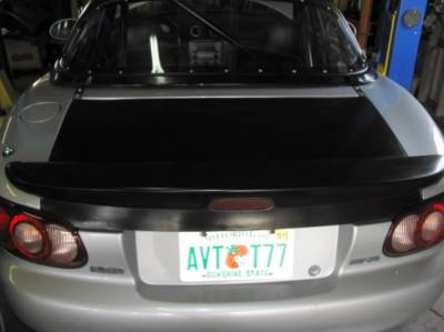 Miata 99-05 - Body, External Inc. Lighting - New Light Weight '99 - '05 Miata MazdaSpeed Rear Trunk Lid and Spoiler