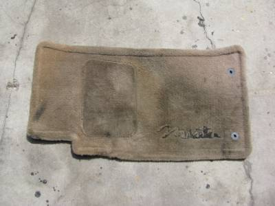 Miata 99-05 - Body, Internal Inc. Seats, Dash, AC, Tops - '99-'05 NB Tan Floor Mat Set