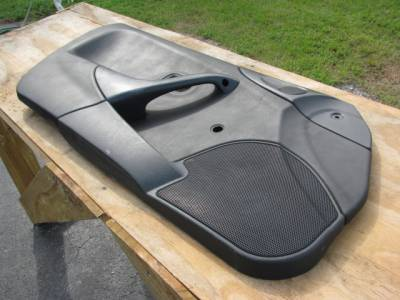 Miata '99-'00 Black Door panel, Driver - Image 2