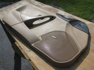 Miata 99-05 - Body, Internal Inc. Seats, Dash, AC, Tops - Miata '99-'00 Tan Bose Door panel, Driver