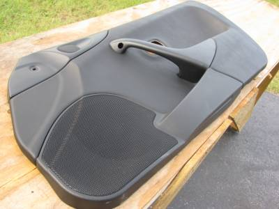 Miata 99-05 - Body, Internal Inc. Seats, Dash, AC, Tops - Miata '99-'00 Black Door panel, Passenger