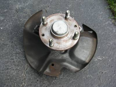 Miata 90-97 - Suspension, Chassis, Steering, Brakes - NA 1.6 Front Hub With Spindle '90 - '93