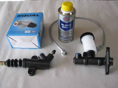 New Miata Parts '99-'05 - Drivetrain, Transmission, and Differential - Miata Clutch Hydraulic System Replacement Kit