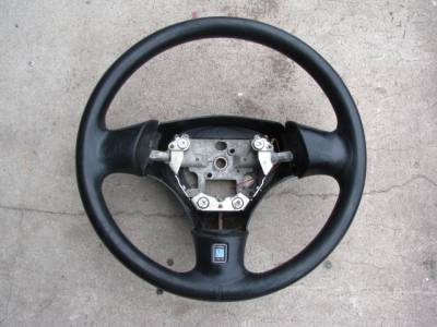Miata 99-05 - Suspension, Chassis, Steering, Brakes - 01-05 Leather Steering Wheel, No Airbag