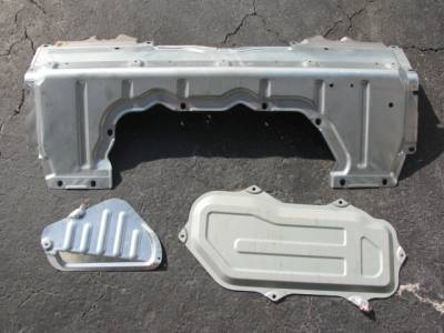 Miata 99-05 - Body, Internal Inc. Seats, Dash, AC, Tops - Miata 3 Rear Deck Package Tray Panels '01-'05