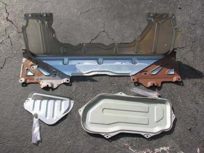 Miata 3 Rear Deck Package Tray Panels '01-'05