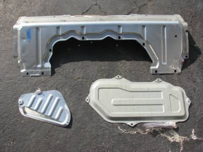 Miata 99-05 - Body, Internal Inc. Seats, Dash, AC, Tops - Miata 3 Rear Deck Package Tray Panels '99-'00